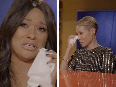 Jada Pinkett Smith Cries with Alleged R. Kelly Victim Lisa Van Allen as She Opens Up
