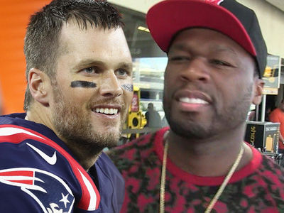 Tom Brady Uses 50 Cent to Clap Back at Haters