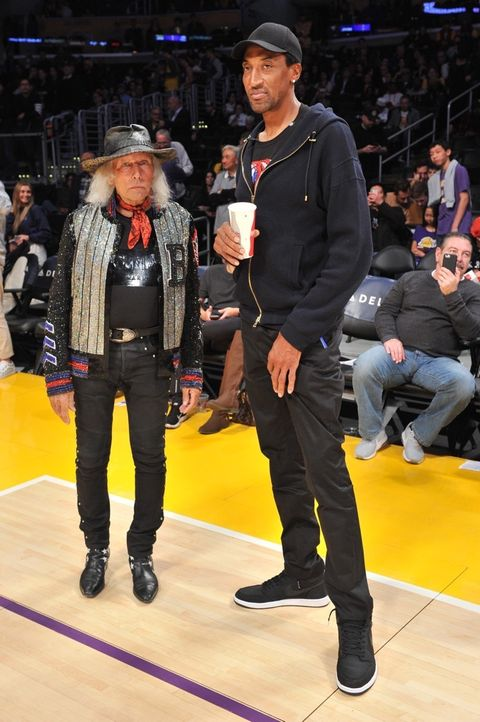 Jimmy Goldstein and Scottie Pippen
