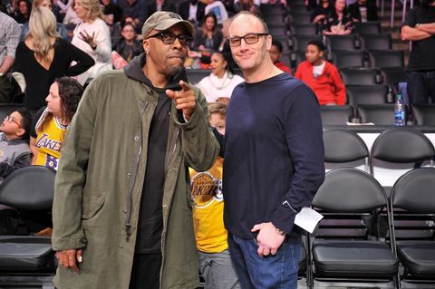 Arsenio Hall and Jay Mohr