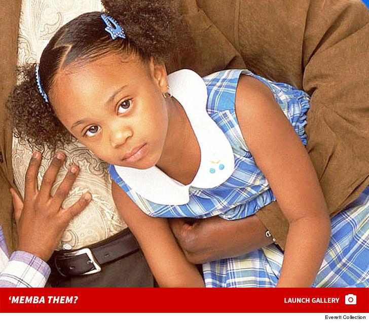 Baby Girl on 'The Bernie Mac Show' 'Memba Her?!