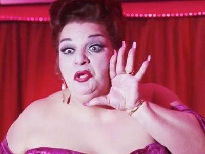 Mama Bazoom in 'Showgirls' 'Memba Her?!