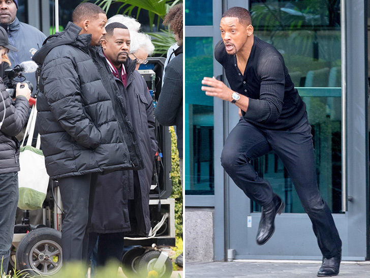 Will Smith and Martin Lawrence Shooting 'Bad Boys for Life' in Atlanta
