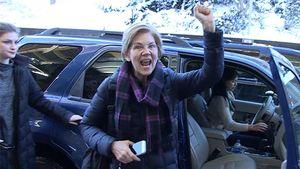 Sen. Elizabeth Warren Rubs Patriots' Win In Haters' Faces