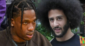 Colin Kaepernick and Travis Scott Spoke Before…