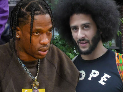 Colin Kaepernick and Travis Scott Spoke Before Super Bowl Deal was Signed