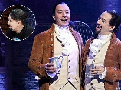 Jimmy Fallon Joins Lin-Manuel Miranda for 'Hamilton' Performance in Puerto Rico