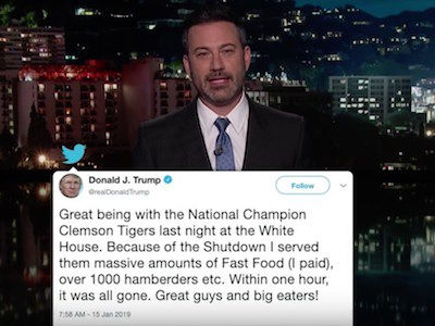 Kimmel Catches Trump in 'HAMBERDER' LIE as Late-Night FEASTS on Misspelling