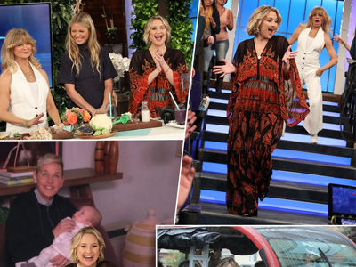 Kate Comes Clean About STALKING Gwyneth During HILARIOUS Ellen Takeover with Goldie Hawn