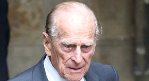 Prince Philip Flips His SUV in Crash, Police Give Him Breathalyzer Test