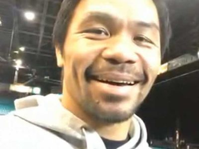 Manny Pacquiao Says He Can Beat Floyd Mayweather Now That He's Healthy