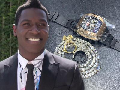 Antonio Brown Goes on $500k Jewelry Shopping Spree