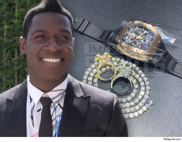 Antonio Brown $500k Jewelry Shopping Spree!!