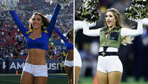 Ram vs. Saints Cheerleaders ... Who'd You Rather?!