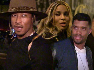 b678a0cea5377 Russell Wilson and Ciara Make Victory Video After Signing  140 Mil ...