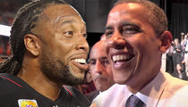 Larry Fitzgerald Sinks Hole-In-One In Round Of Golf With Barack Obama