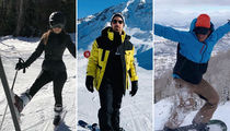 Stars Hitting The Slopes -- Chill Out!