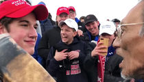 MAGA Hat High Schoolers Harass Native American Vietnam Vet