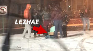 Fetty Wap's Baby Mama Lezhae Lowder Arrest in Massive Brawl Caught on Video