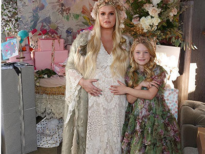 Did Jessica Simpson Just REVEAL Her Baby's Name with THIS Baby Shower Picture?