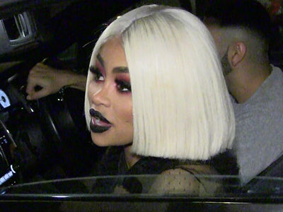 Cops Pay 2nd Visit to Blac Chyna's Home to Keep the Peace with Makeup Artist