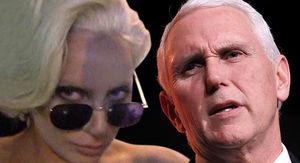 Lady Gaga Slams Mike Pence as Bad Christian For Wife's School Gig