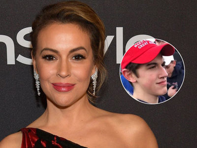Milano & Other Stars DEFEND Calling Out MAGA Teens: 'Bigotry Was at Play From the Start'