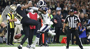 NFL Official Gave Explanation On Rams-Saints No-Call Without Seeing Play