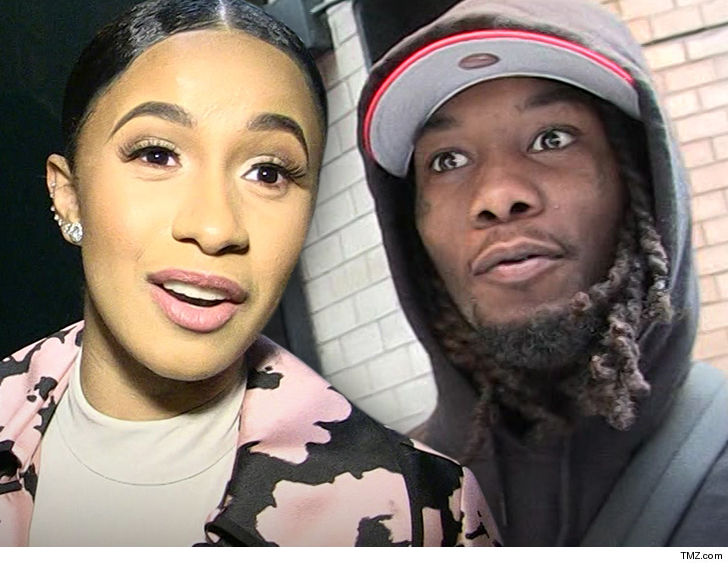 Cardi B Unveils Dramatic Before And After Makeover Of: Cardi B Says She Wants To Go Home To Offset And Kulture