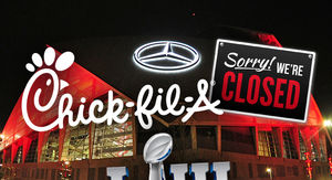 Chick-fil-A Won't Even Make an Exception for Super Bowl Sunday