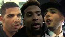 Drake, Odell Beckham Jr. Sued Over Nightclub Beatdown