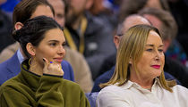 Kendall Jenner Sits with Ben Simmons' Mom at 76ers Game