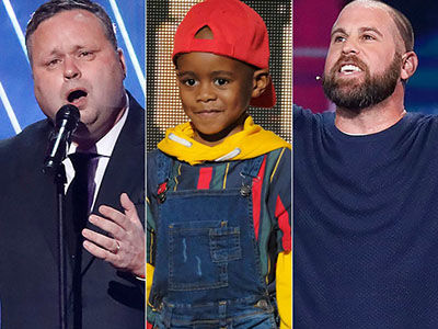 'AGT: Champions' Recap: Former NFL Star Wows with Mind-Blowing Magic Trick -- Plus, a Six-Year Old…