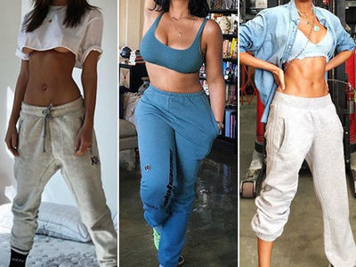 Sexy Stars In Sweatpants -- Guess Who!