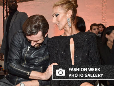 How Celine Dion's BFF Just Saved Her From a Paris Fashion Week Wardrobe Malfunction!