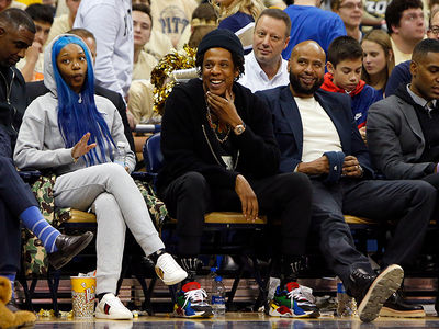 Jay-Z Sits Courtside at Duke Game, Recruiting Zion to Roc Nation?