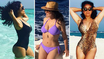 Salma Hayek's Hot Bod Over 50 -- See The Sexy Mama!