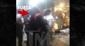 Busta Rhymes Gets in Street Scuffle in Times Square on New Year's