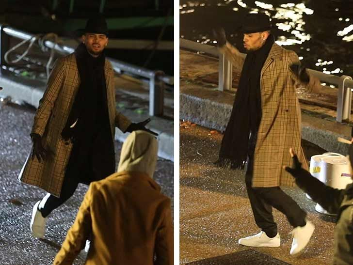 Chris Brown Sticking Around Paris for Work ... Will Leave Tomorrow