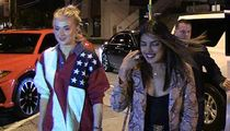 Priyanka Chopra & Sophie Turner Sisters-in-Law's Night Out w/o Jonas Bros.