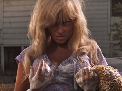 Hot Blonde Car Washer in 'Cool Hand Luke' 'Memba Her?!