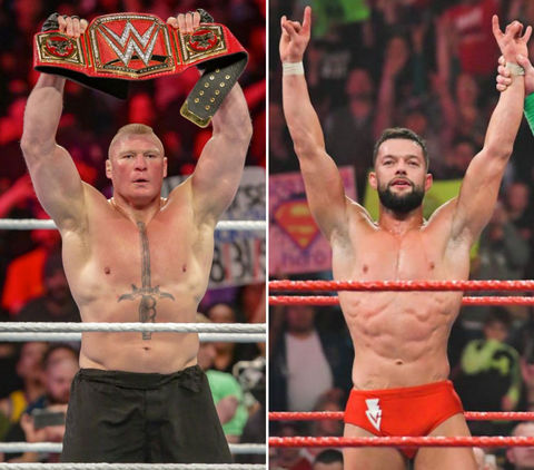 Brock Lesnar (41) vs. Finn Balor (37) -- WWE Royal Rumble Edition