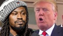 Marshawn Lynch On Donald Trump, 'That Muthaf*cker Say A Lot Of Sh*t'