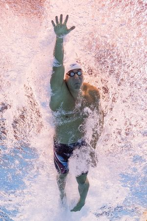 Nathan Adrian Swimming in Rio Olympics