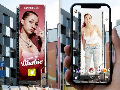 Danielle 'Bhad Bhabie' Bregoli Getting Augmented Reality Billboard in L.A.
