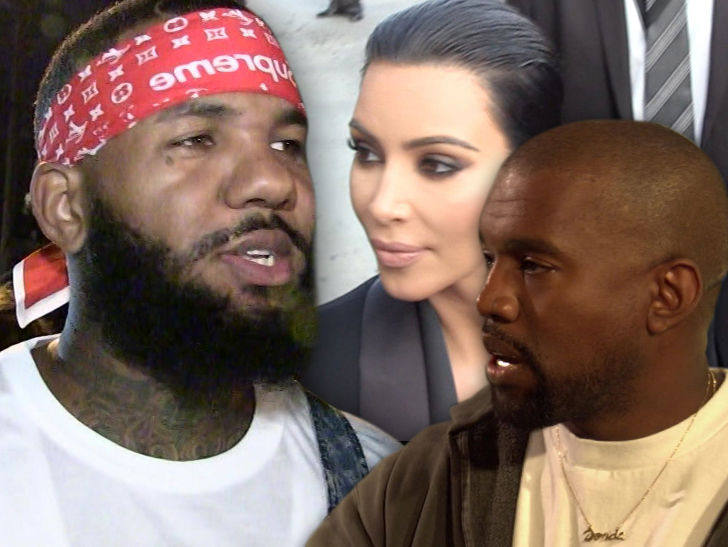 The Game Was Warned to Drop Graphic Kim Kardashian Sex Lyric