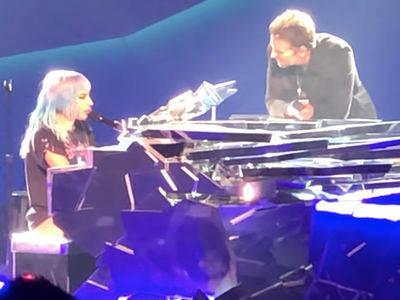 Lady Gaga Brings Out Bradley Cooper During Vegas Show to Sing 'Shallow'