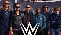 WWE Slams Super Bowl Halftime Show, 'Why Watch Maroon 5?'