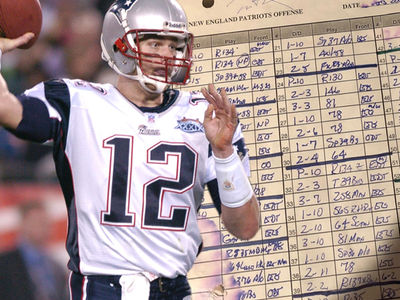 Tom Brady's Handwritten Super Bowl XXXIX Notes Hit Auction Block