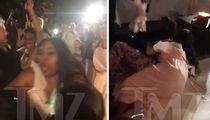 'Bad Girls Club' Star Tanisha Thomas Tackles Woman at Amber Meade's Wedding